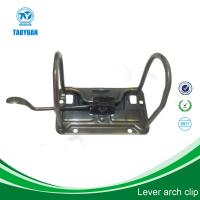 Buy cheap 3 INCHES bronze color lever file clip, lever arch box clip from wholesalers