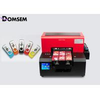 Buy cheap Multi - Functional Small Flatbed Digital Uv Inkjet Printer A4 For USB Sticks from wholesalers