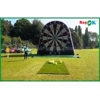 Buy cheap Outdoor Inflatable Dart Board Stands Football Soccer Shooting Game Products from wholesalers