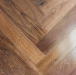 Black Walnut Fishbone/Herringbone Engineered Flooring Manufactures