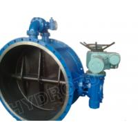 Gear Operated Flanged Butterfly Valve 1000mm for Hydropower Manufactures