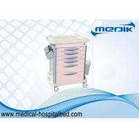 Buy cheap Luxury Drug Medical Storage Carts / Medication Carts For Hospitals Cream Color from wholesalers