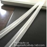 Buy cheap PE & PP pvc long chain pe double color flange zipper used for zip lock plastic bags, custom zipper washing machine flang from wholesalers