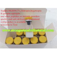 Buy cheap Muscle Gain Powder Human Growth Hormone Peptides HGH 99.7% Purity Reduce Fat Mass from wholesalers