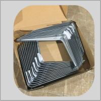 Buy cheap angle steel grey  bracket iron type corner support for furniture hardware fitting  for supermarket using from wholesalers