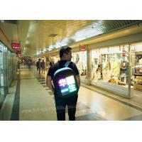 Buy cheap Wearable Outdoor Led Screen Advertising Vest 100000 Mah Power Bank IP65 product