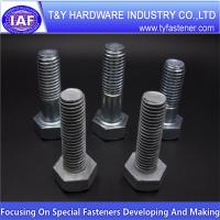 Buy cheap standard size hex bolt and nuts from wholesalers
