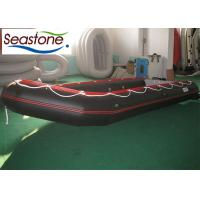 Buy cheap Fiberglass Inflatable Sport Boats Antiski Deck Polished Running Smooth V Shape from wholesalers