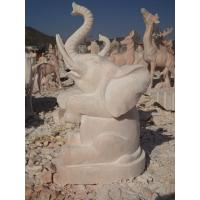 Wholesale stone carving elephant water fountain from china suppliers