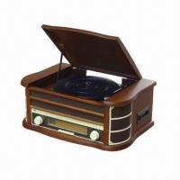 Buy cheap Wooden Retro Style Radio with USB and Encoding, Cassette, CD, MP3 Player Functions from wholesalers