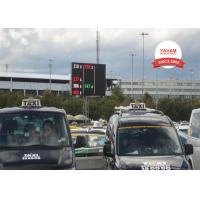 China Custom Super Clear Vision Led Traffic Signs For Road Construction on sale