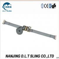 Buy cheap E track Ratchet Straps , According to EN12195-2, ASME B30.9 standard, CE, GS certificate approved. from wholesalers