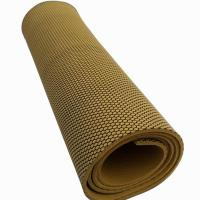 Sports Anti Slip Yoga Mat, Textured Rubber Foam Yoga Mats Manufactures