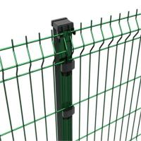 China Decorative Powder Coated 3d Floding Welded Mesh Fencing , Metal Mesh Fence on sale
