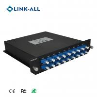 Buy cheap Link-All 16 Channel Bi-Direction DWDM Mux/Demux with low insertion loss from wholesalers