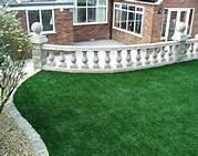 Buy cheap Evergreen/ green Artificial Grass Roof Plastic for swimming pool from wholesalers