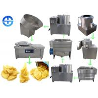 Buy cheap Popular Potato Chips Production Line / Frozen French Fries Making Machine from wholesalers