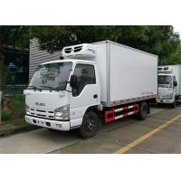 Buy cheap ISUZU 100P Freezer Box Truck , 2 Ton Commercial Refrigerated Trucks -20 Celsus Degree from wholesalers