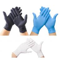 Wholesale Wholesale Nitrile. Latex,Vinyl gloves nitrile disposable gloves Wholesale Blue Powder Free Nitrile Gloves from china suppliers