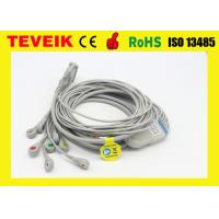 China Schiller CS6 EKG Cable With Integrated 10 Lead Wire Fit EKG Machine on sale