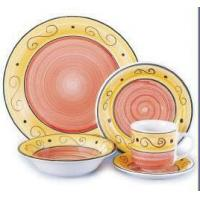 Buy cheap Stoneware Handpainted 16pcs Dinner Sets from wholesalers