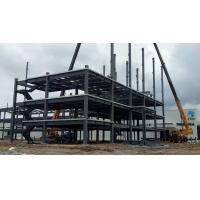 Buy cheap High Multi Storey Prefabricated Steel Structure Building Galvanised / Painted Surface from wholesalers