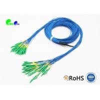 Buy cheap Single Mode Fiber Optic Cable Patch Cord Customized LC APC - LC APC 24 Fibres Staggered from wholesalers