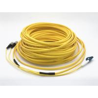 Buy cheap 30 Meters Lc To Fc Patch Cord 2 Fiber Flat Drop Cable Double Sheath For Fttx from wholesalers