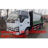 Buy cheap Japanese brand ISUZU LHD 4*2 190hp 10m3 garbage compactor truck for sale, hot sale ISUZU refuse collection truck from wholesalers