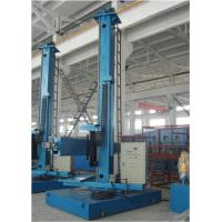 Blue Automatic Pipe Welding Column And Boom / Weld Manipulators for Pressure Vessel Manufactures