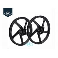 Buy cheap Yamaha YBR125 Aftermarket Motorcycle Wheel Parts With Disc / Drum Brake Hub from wholesalers