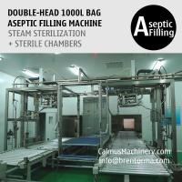 Buy cheap Double-Head 1000 Liter IBC Filler Equipment 1000L Bulk Bag Filling System from wholesalers