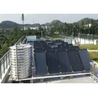 Wholesale 250L 316 Stainless Steel Flat Plate Solar Water Heater Blue Coating Flat Collector flat solar water heater from china suppliers