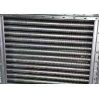 Buy cheap Copper Finned Aluminum Tube Heat Exchanger Customized Made Dimension from wholesalers