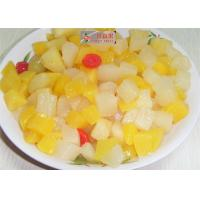 China Natural Mixed Canned Fruit Cocktail Mandarin Orange Grape Pineapple Cherry on sale
