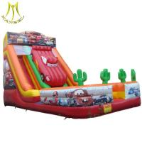 Buy cheap Hansel hot selling used trampolines inflatable slide supplier in Guangzhou from wholesalers