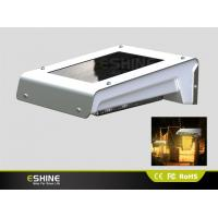 Buy cheap IP65 Waterproof Aluminum Solar Motion Security Light Dim Wall Mount with Pure/Warn White Led from wholesalers