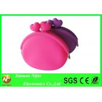 Buy cheap Jelly Waterproof Handbag Silicone Wallet Purse / Rubber Coin Purse for Girls from wholesalers