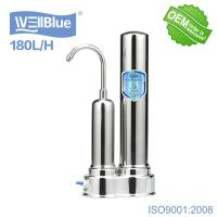 Buy cheap Household Ceramic Countertop Water Filter With Stainless Steel Faucet product