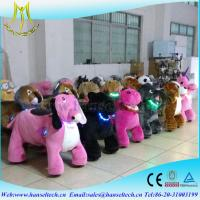 Hansel hot selling children indoor rides game machines plush animal electric scooter Manufactures