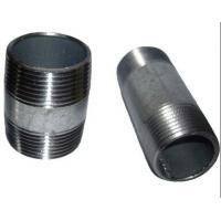 Wholesale ASTM A733 ASTM A53 welded Steel Pipe Nipples ,Thread ANSI / ASME B1.20.1 from china suppliers