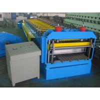Buy cheap Automatic Metal Glazed Roof Tile Roll Forming Machine Siemens PLC Control for Mexico Market from wholesalers