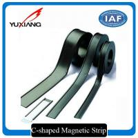 Buy cheap C Shaped Flexible Magnetic Strips Multi Pole On One Side Magnetization from wholesalers