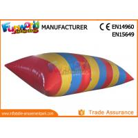 Wholesale 0.9mm PVC tarpaulin Inflatable Water Catapult Blob With Logo Printing from china suppliers