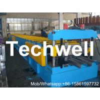 Colored Steel 380V 3 phase 50Hz Floor Decking Sheet Roll Forming Machine PLC Control Manufactures
