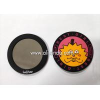 Wholesale Promotional pvc silicone mini makeup mirror custom advertising gifts small cartoon cute animal mirror wholesale from china suppliers