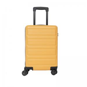Wholesale 20 Inch Yellow 0.8mm Carry On Trolley Luggage from china suppliers