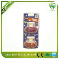 Buy cheap high efficiency cleaning steel wool brush oven cleaning scourer from wholesalers