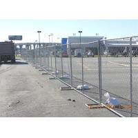 Buy cheap Customized PVC Coated 4' 6' 8' Chain Link Fence Privacy Panels 60mmx60mm from wholesalers