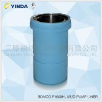 Bomco F1600HL Triplex Mud Pump Liner, API-7K Certified Factory, Chromium content 26-28%, HRC hardness greater than 60